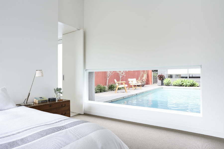Maison contemporaine australie chambre - Maison entrepot melbourne en australie ...