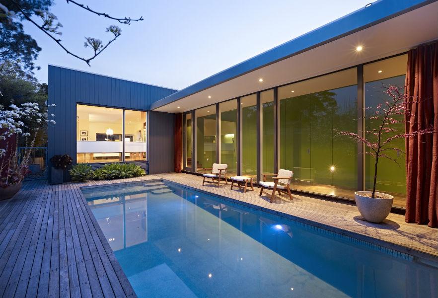 Villa contemporaine melbourne - Maison entrepot melbourne en australie ...