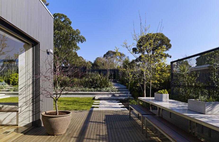 Villa contemporaine melbourne - Melbourne maison moderne australie ...