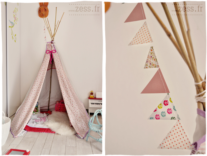 tipi pour chambre d 39 enfant. Black Bedroom Furniture Sets. Home Design Ideas