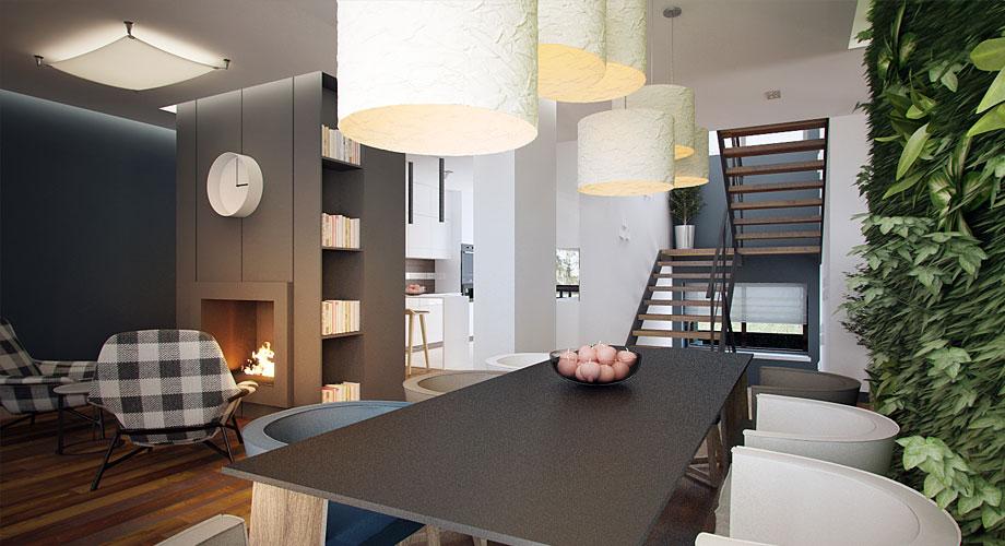Amenagement maison contemporaine escalier for Amenagement maison contemporaine