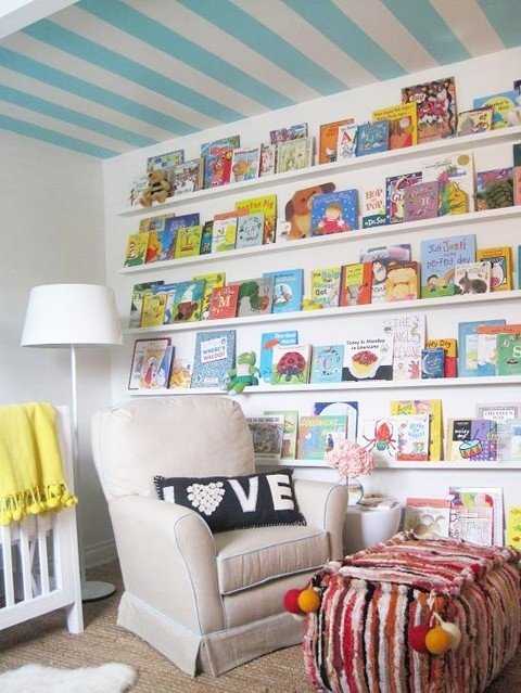 idees rangement 2 chambre enfants bibliotheque. Black Bedroom Furniture Sets. Home Design Ideas