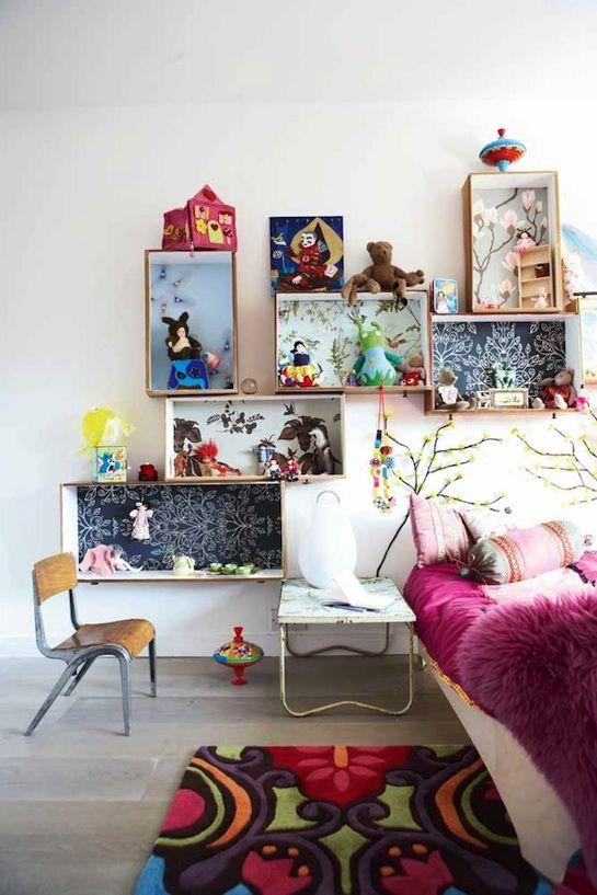 Idees Rangement 5 Chambre Enfants Cadres Tableaux Deco