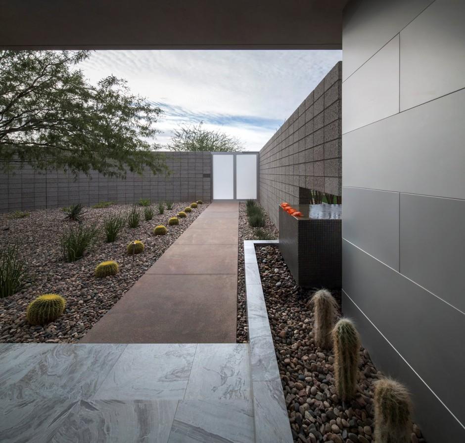 villa contemporaine en arizona. Black Bedroom Furniture Sets. Home Design Ideas