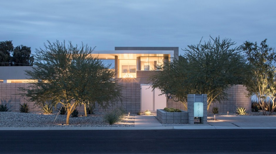 Villa contemporaine en arizona - Residence contemporaine yerger en arizona ...