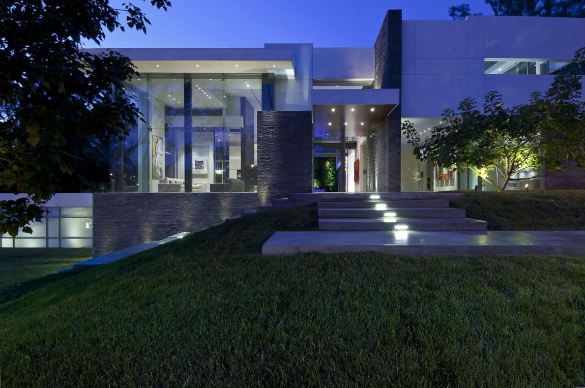 villa-design-californie-entree-exterieure