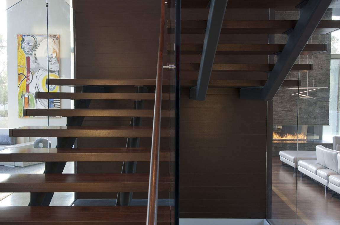 villa-design-californie-escalier
