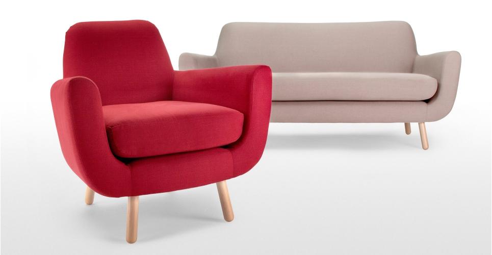 fauteuil canape retro made. Black Bedroom Furniture Sets. Home Design Ideas