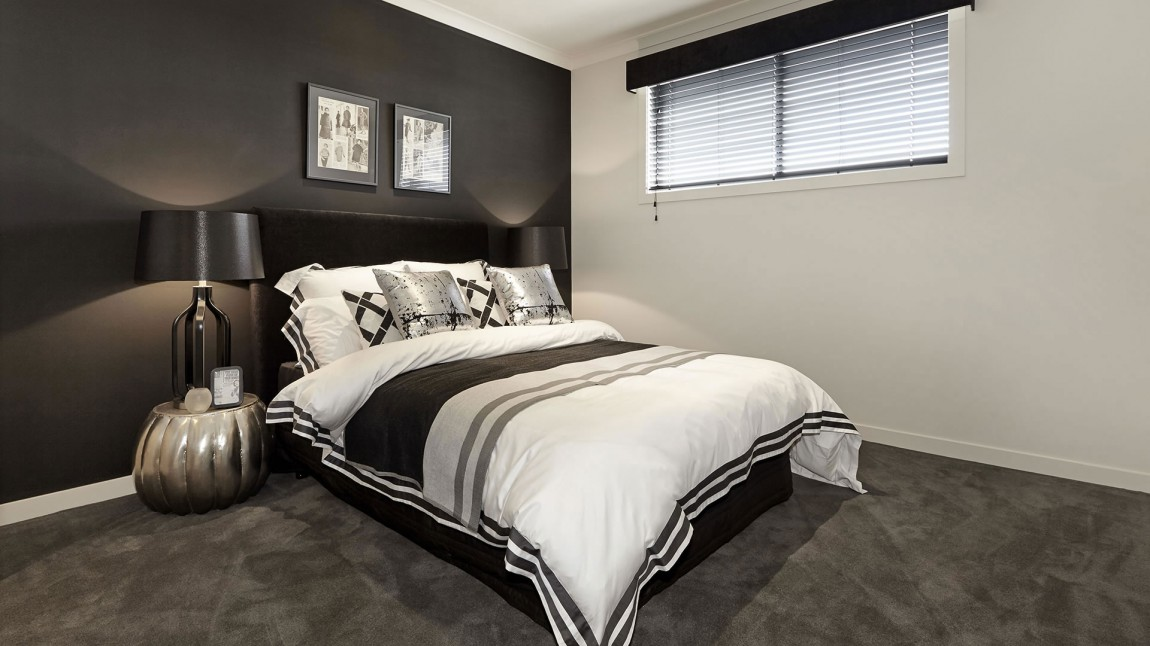 bedroom carpet color ideas d 233 coration en noir et blanc 14179