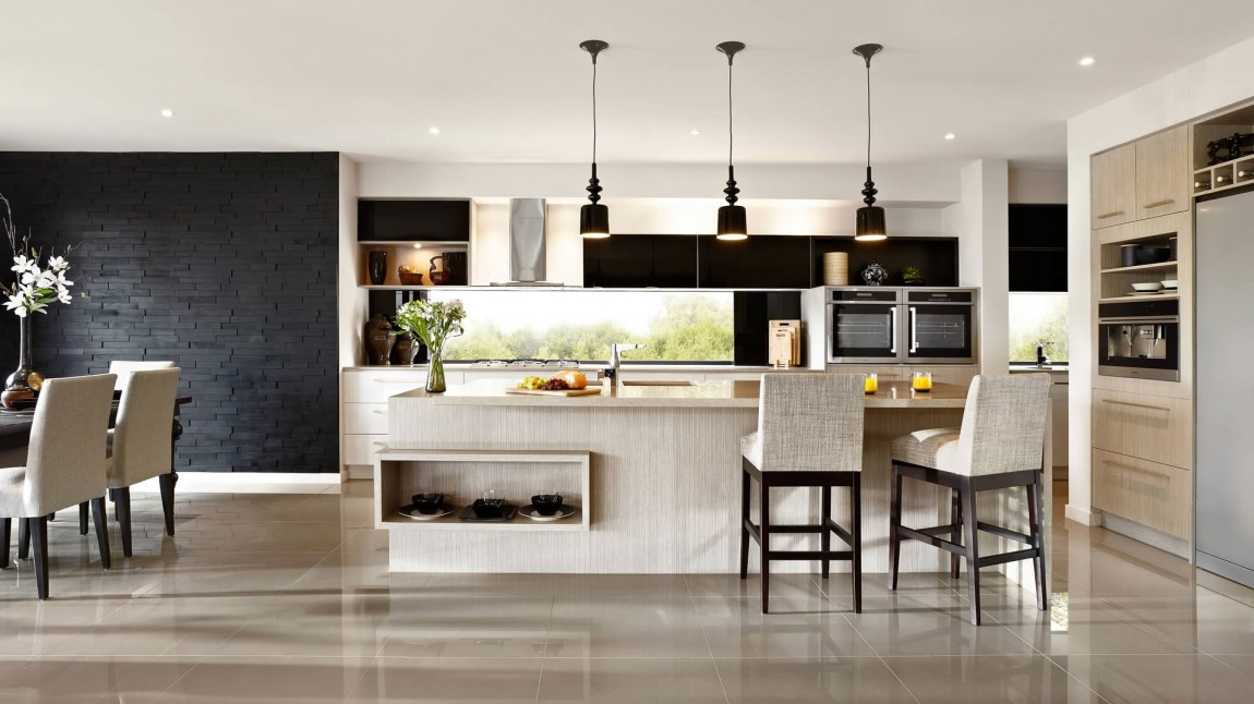 kitchen lighting melbourne d 233 coration en noir et blanc 2191