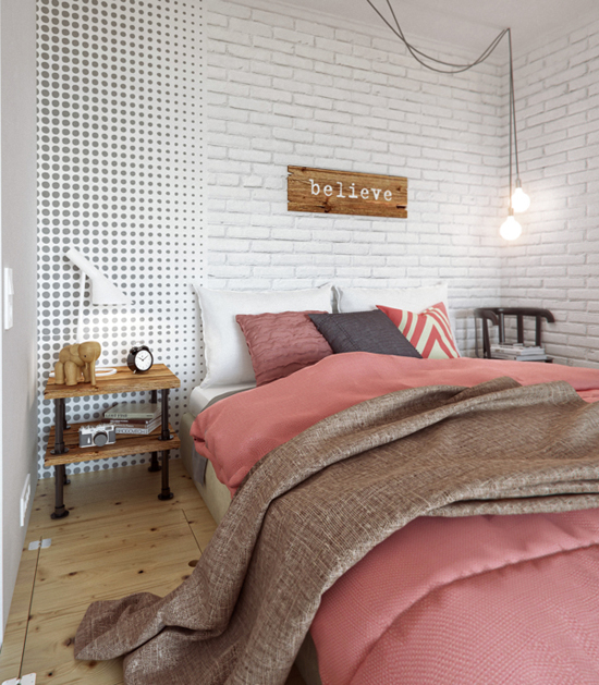 petit-appartement-colore-lit