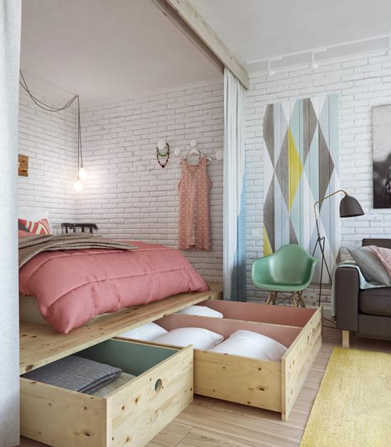 petit-appartement-lit-rangement
