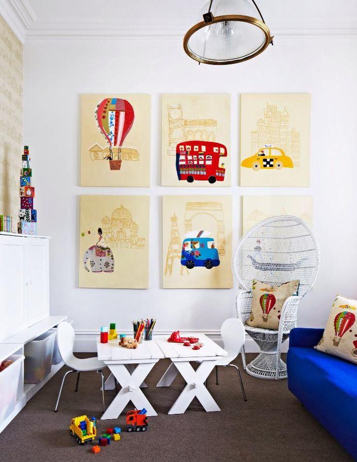 salle jeux enfants 5 cadres inspiration atypique deco. Black Bedroom Furniture Sets. Home Design Ideas