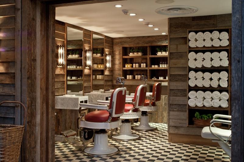 Vintage Barbershop SOHO BEACH HOUSE HOTEL...