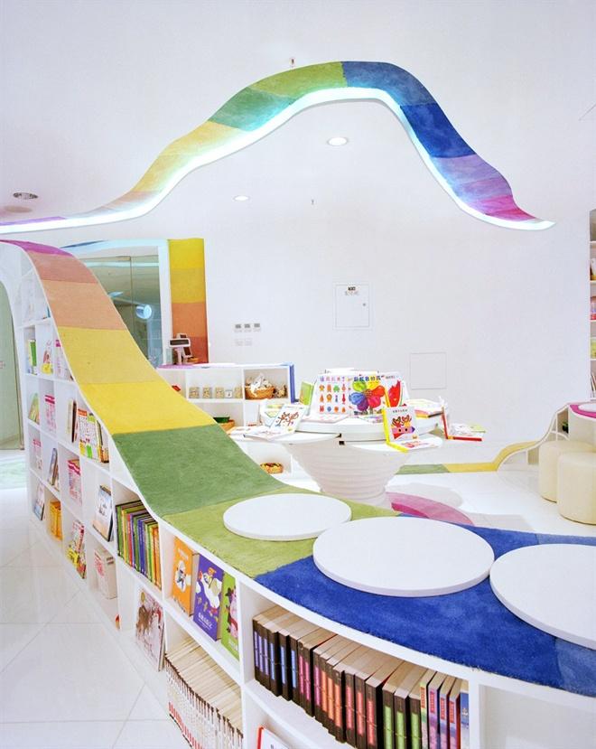 bibliotheque coloree enfant rangement livre. Black Bedroom Furniture Sets. Home Design Ideas