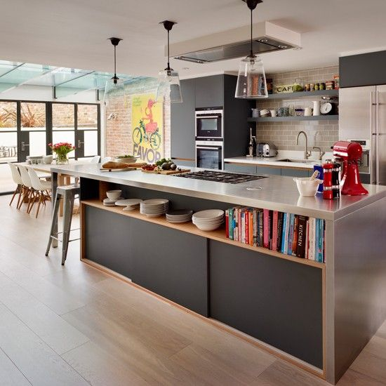 U Shaped Kitchen Open To Living Room: Inspirations Cuisines