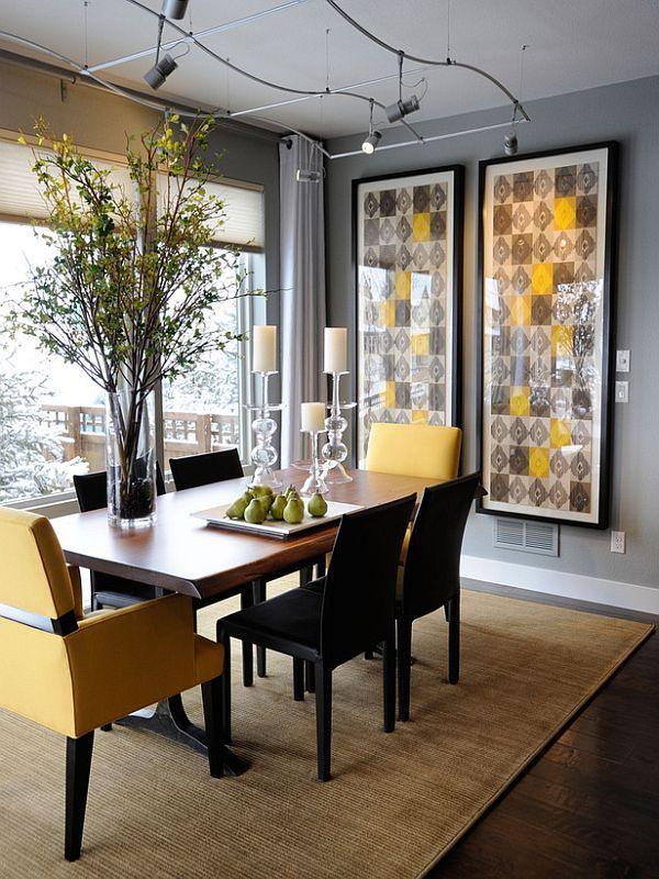 salle-manger-grise-touche-jaune