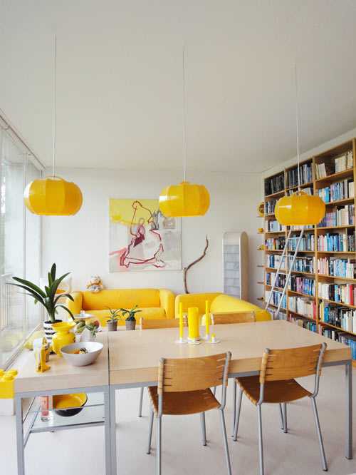 salon-canape-jaune