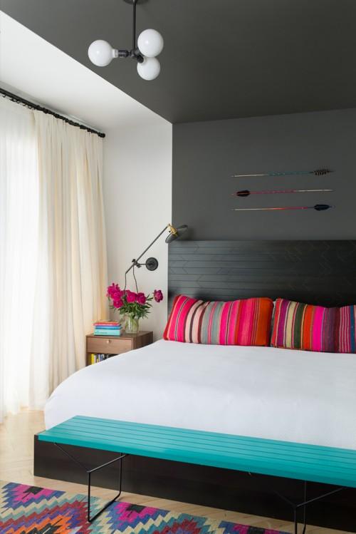 Inspirations pour t tes de lit originales - Mal de tete au lever du lit ...