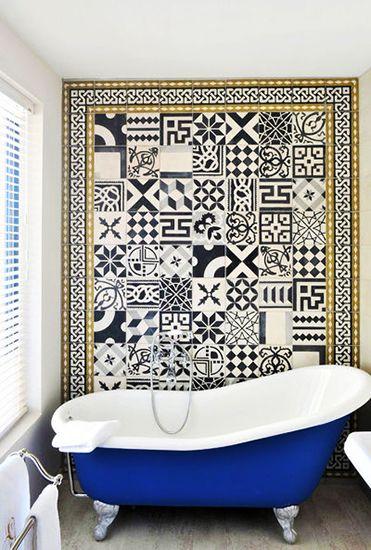 Carrelage Mosaique Salle Bains Murs