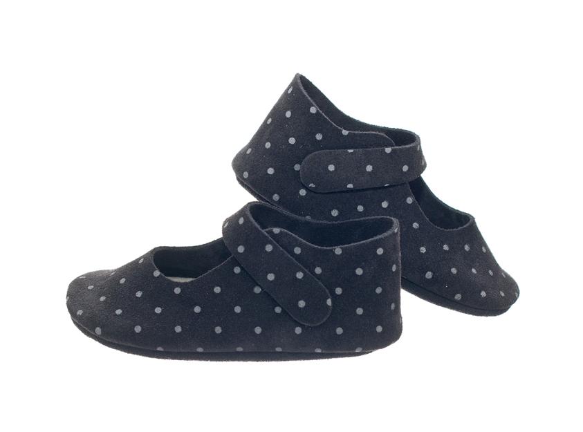 chaussure bebe fille pois. Black Bedroom Furniture Sets. Home Design Ideas