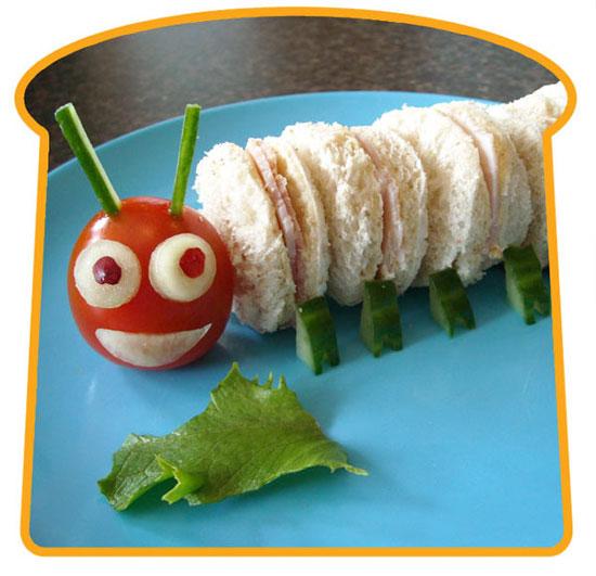 idees-sandwichs-originaux-enfant-chenille
