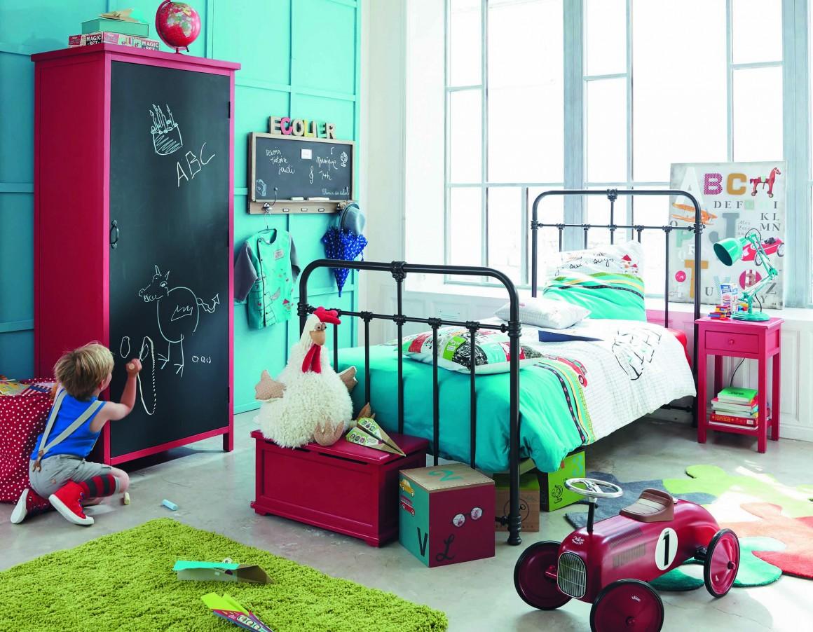 chambre-enfant-garcon-vintage-deco-48 - Chambre Enfant Vintage