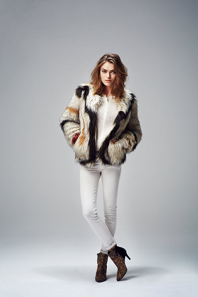 Collection IKKS femme automne hiver 2014.