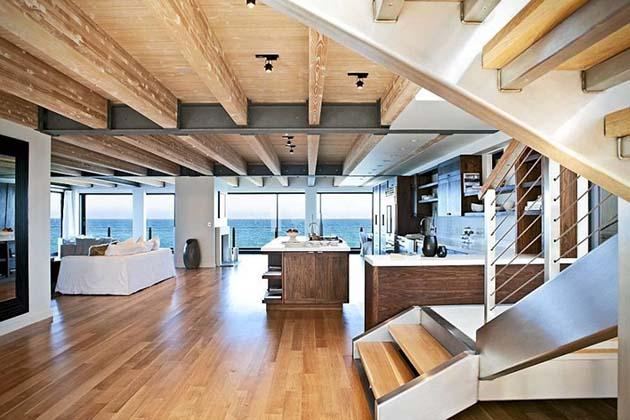 maison design piscine entree malibu. Black Bedroom Furniture Sets. Home Design Ideas