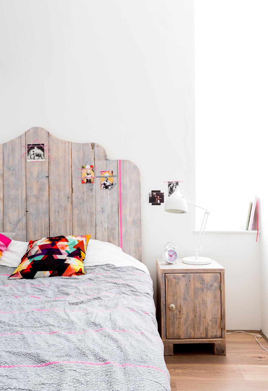 Chambre meuble bois brut for Meuble chambre bois