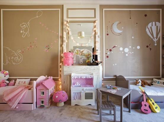 inspirations d co de chambres mixtes pour enfants. Black Bedroom Furniture Sets. Home Design Ideas