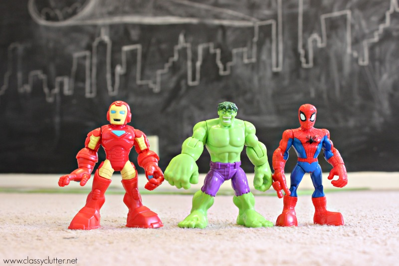 figurines-superheros