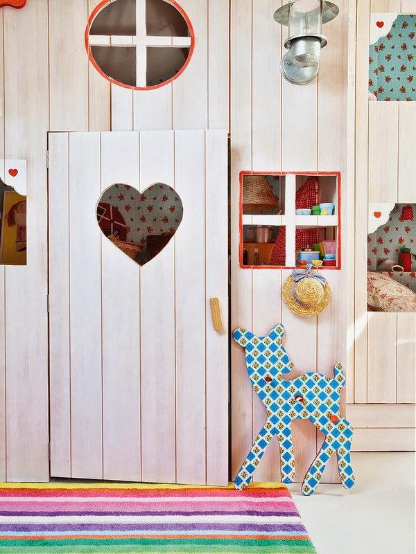 Projet chambre cabane pour enfant - Porte cabane bois ...