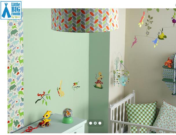 chambre bebe djeco mixte. Black Bedroom Furniture Sets. Home Design Ideas