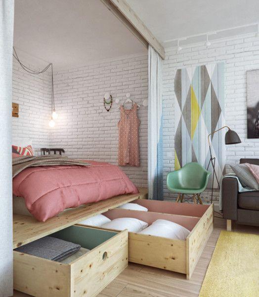 estrade-chambre-rangements-deco-papier-peint