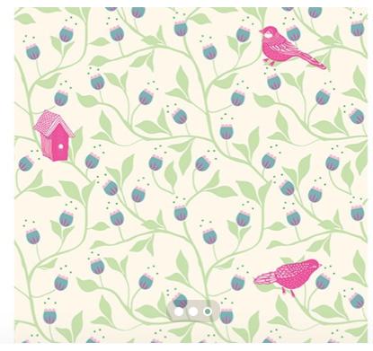 Papier Peint Djeco Motif Oiseau