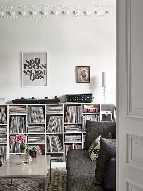 rangements pour vos disques vinyles. Black Bedroom Furniture Sets. Home Design Ideas