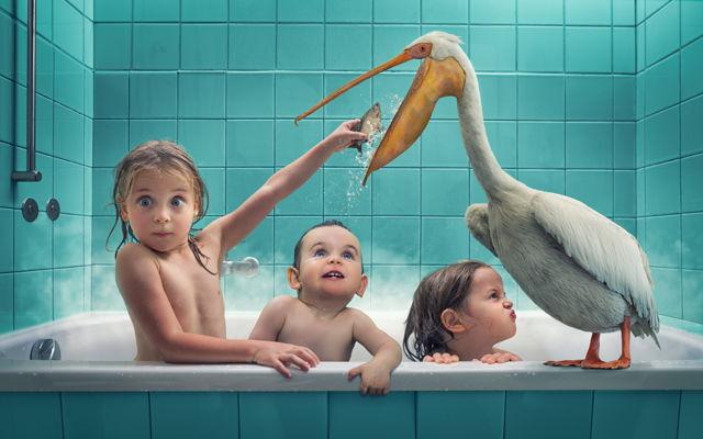 photos-photoshop-pere-enfants-fun-baignoire-goeland