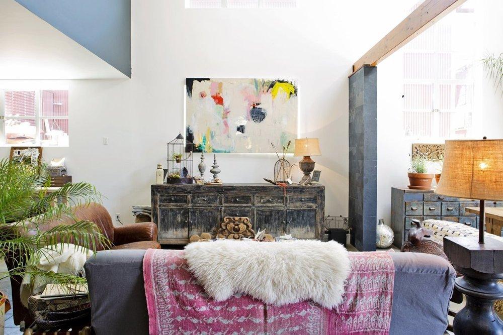 loft la d co boh me et rustique. Black Bedroom Furniture Sets. Home Design Ideas