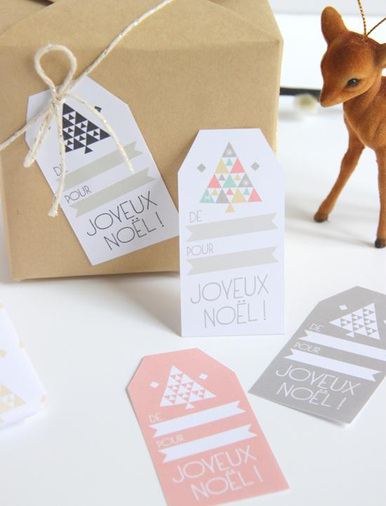 Etiquettes pour cadeaux de noel imprimer - Etiquette cadeau noel ...