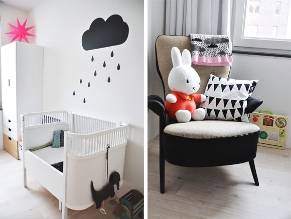 deco nuage chambre bebe suspension papier peint 1. Black Bedroom Furniture Sets. Home Design Ideas