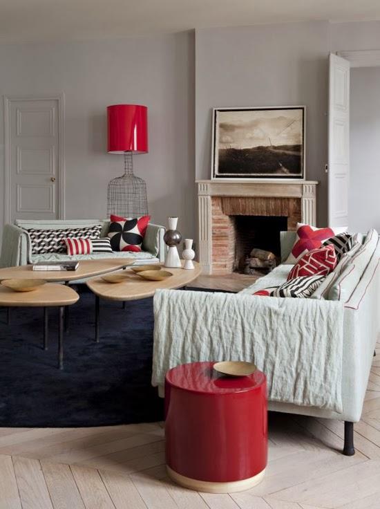 touches de couleurs vives en d coration. Black Bedroom Furniture Sets. Home Design Ideas