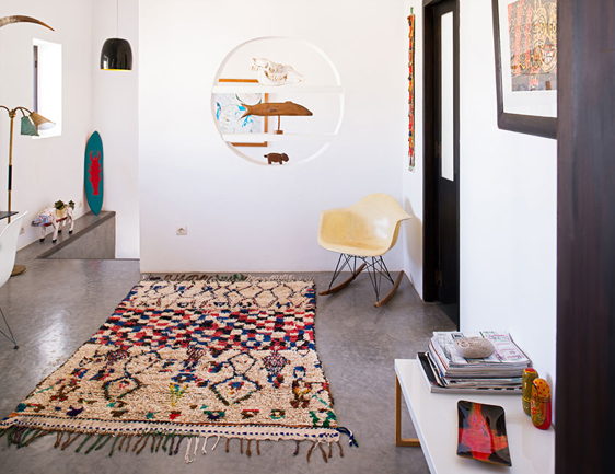 tapis berbere deco maroc. Black Bedroom Furniture Sets. Home Design Ideas