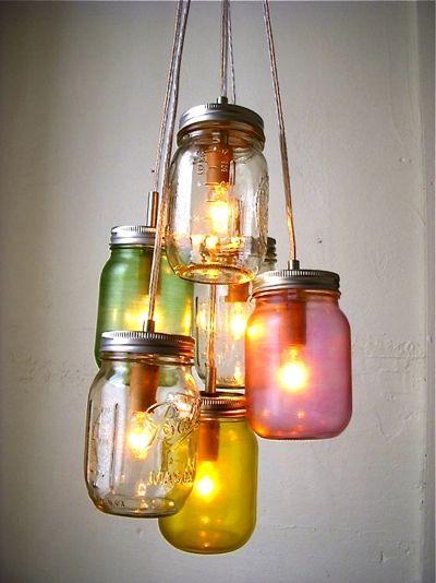objets d tourn s en luminaires originaux. Black Bedroom Furniture Sets. Home Design Ideas