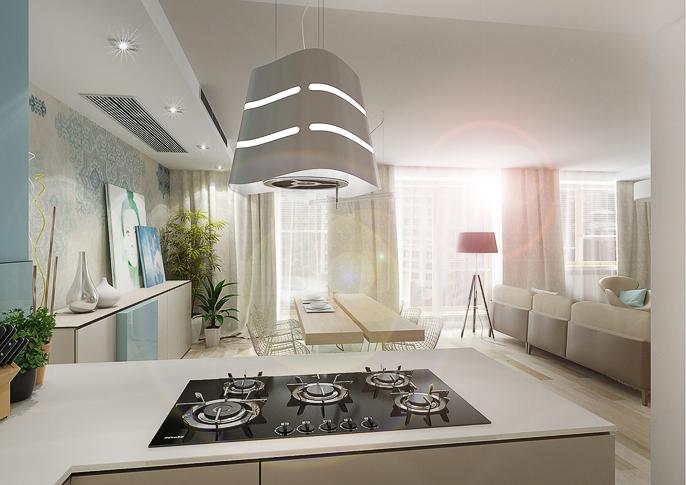 cuisine plaque cuisson ilot. Black Bedroom Furniture Sets. Home Design Ideas