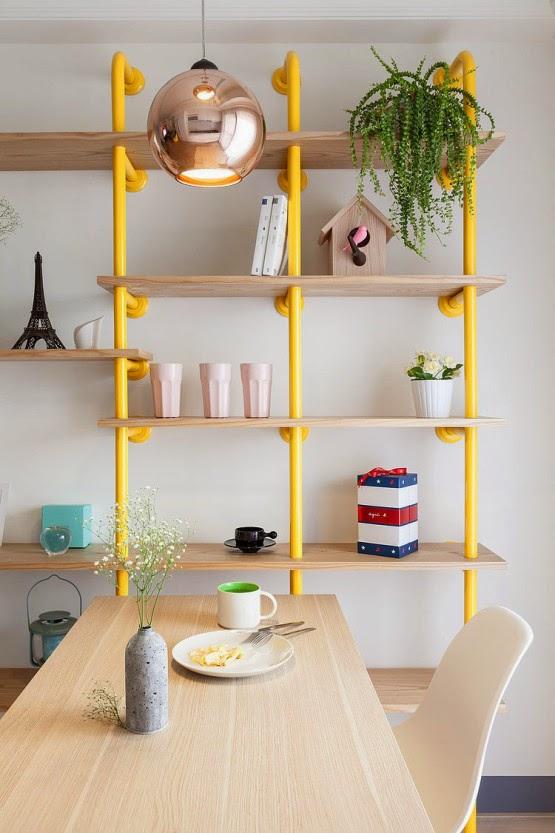 Extremement Appartement lumineux et décoration colorée PQ-26