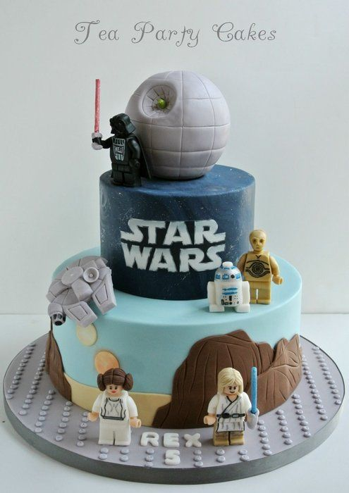 gateau anniversaire enfant originaux star wars. Black Bedroom Furniture Sets. Home Design Ideas