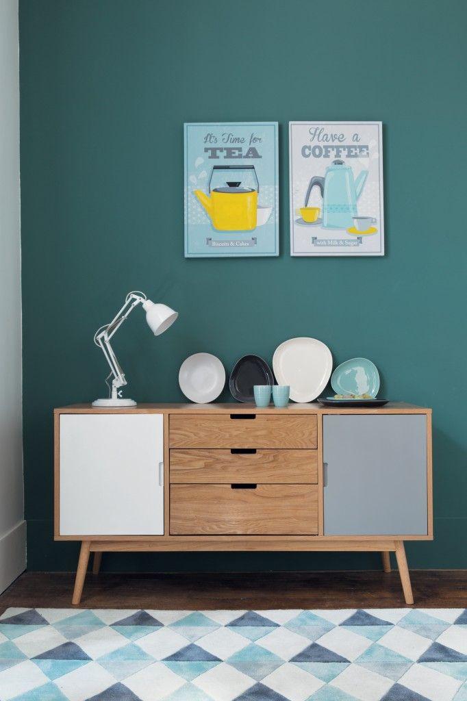 Inspiration bleu deco buffet vintage for Deco inspiration
