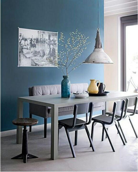 d clinaisons de bleu en d co. Black Bedroom Furniture Sets. Home Design Ideas