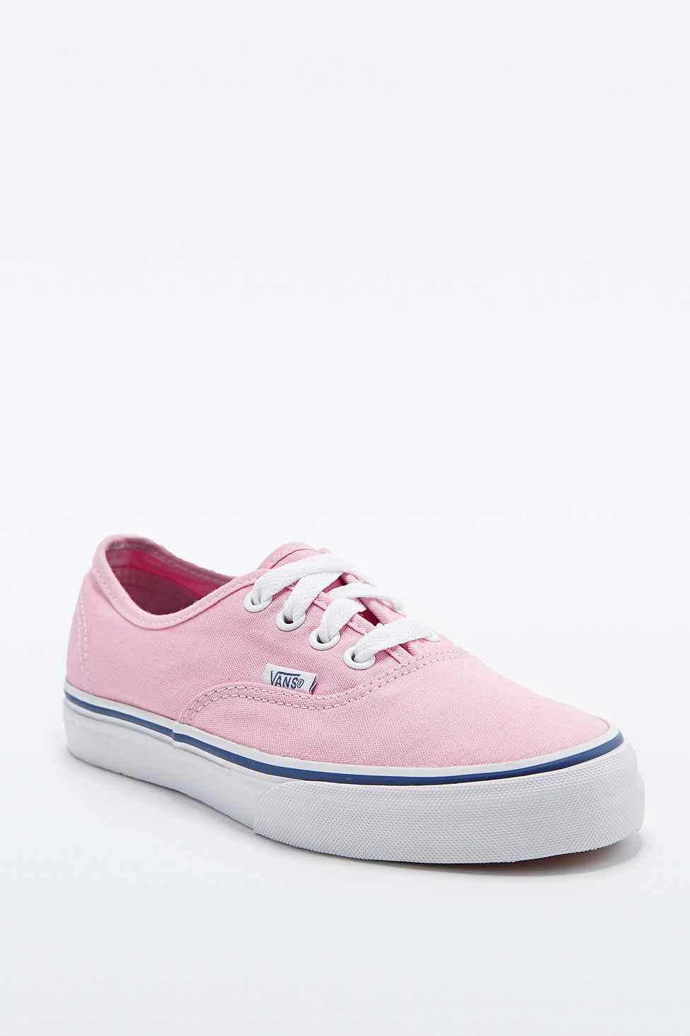 vans femme rose